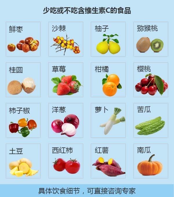白癜风饮食图
